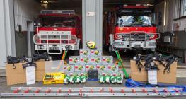 Mieszkańcy zadbali o swoich strażaków